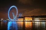 London Eye City Lights