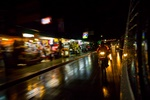 Streets in Thailand City Lights